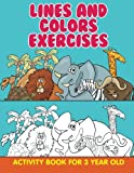 Best Jupiter Kids Books 3 Year Olds - Lines and Colors Exercises: Activity Book For 3 Review