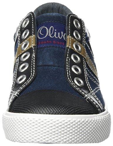 s.Oliver 44104, Zapatillas Para Niños Azul (NAVY 805)