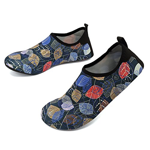 Barefoot Leaf on Kids VIFUUR for Shoes Socks Slip Dry Men Yoga Aqua Water Sports Women Quick qvTZtapv