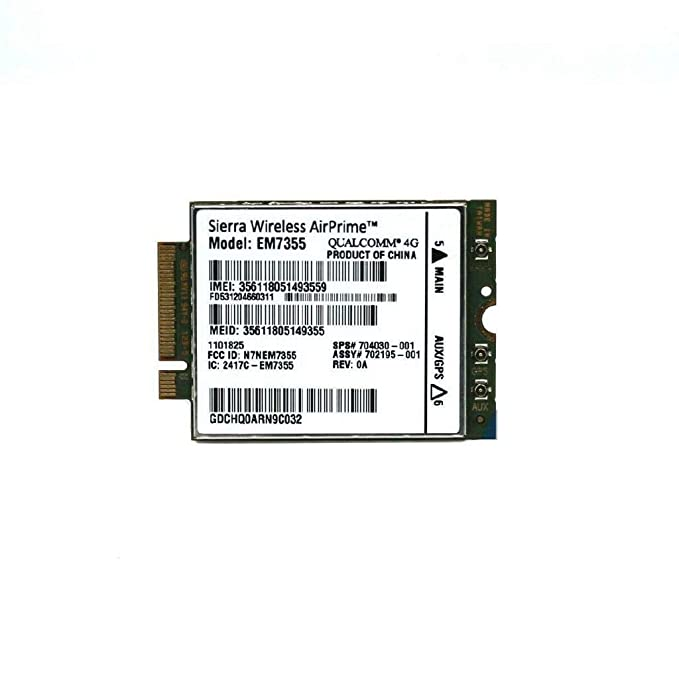 Huasijie Dell EM7355 Sierra GOBI5000 3G/4G LTE Module NGFF for Venue11 Pro 7130 Wwan Card 2NDHX