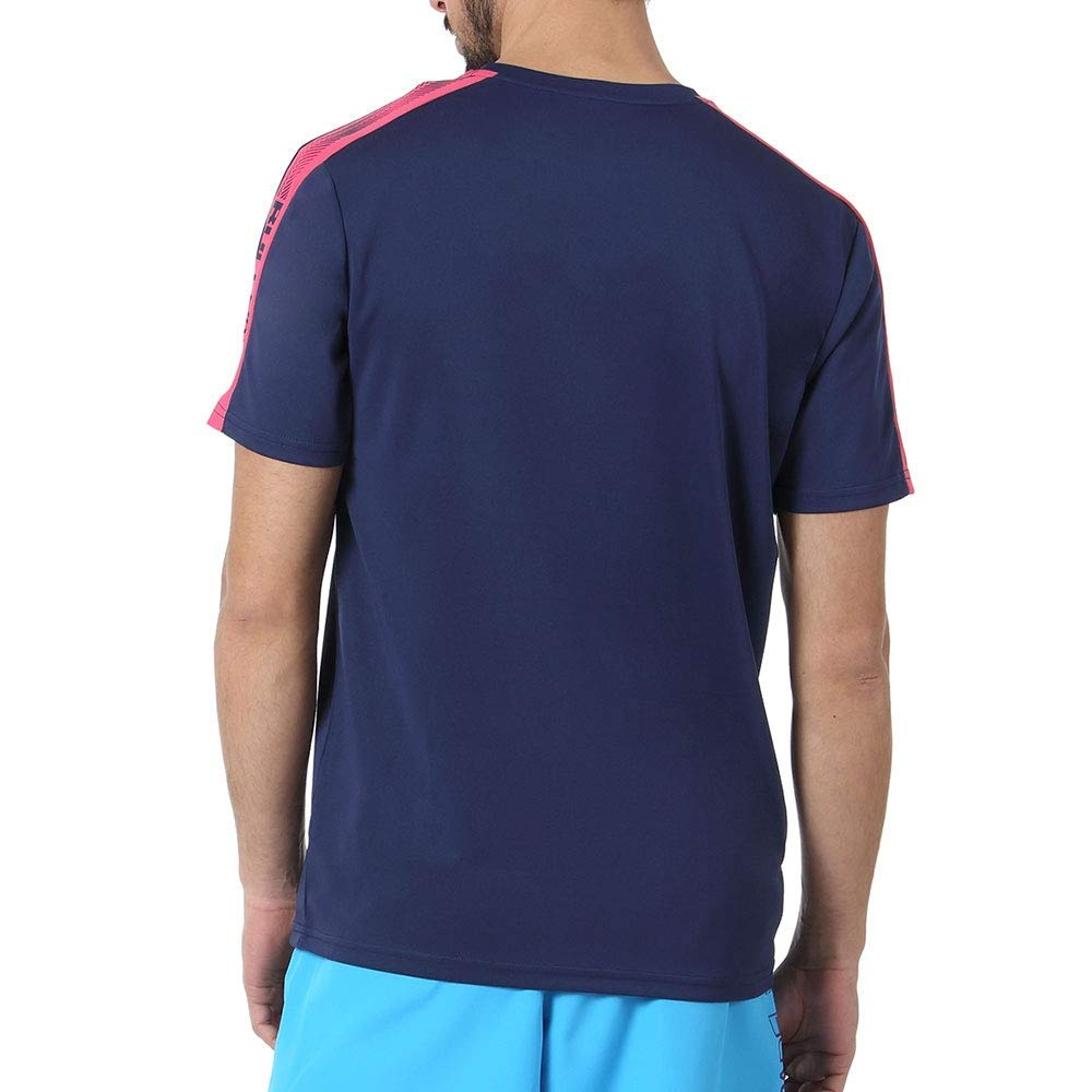 Bullpadel Camiseta COSTIBI Paquito Navarro Azul Marino: Amazon.es ...