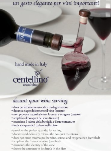 Centellino Wine Aerator and Decanter 100 ML by Lyra , wine import