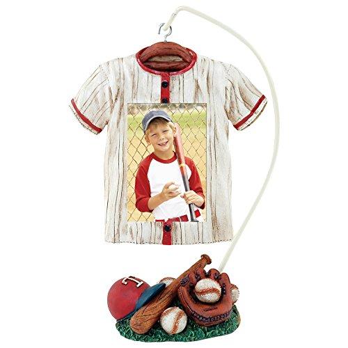 Baseball Photo Frame (Baseball Jersey Hanger Picture Frame)