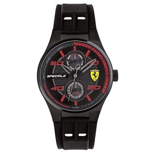 Watch Scuderia Ferrari Unisex Multifunction Preppy 0840011: Amazon.es: Relojes