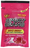 Jelly Belly Sport Beans, Fruit Punch Energizing Jelly Beans, 1-Ounce Bags (Pack of 24)