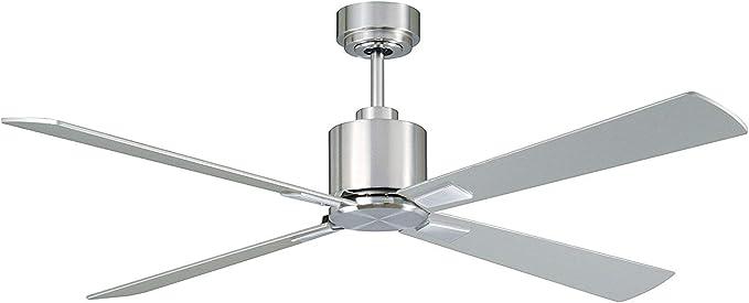Lucci Air Airfusion CD52-BC - Ventilador de techo (cromo cepillado, bajo consumo energético): Amazon.es: Iluminación