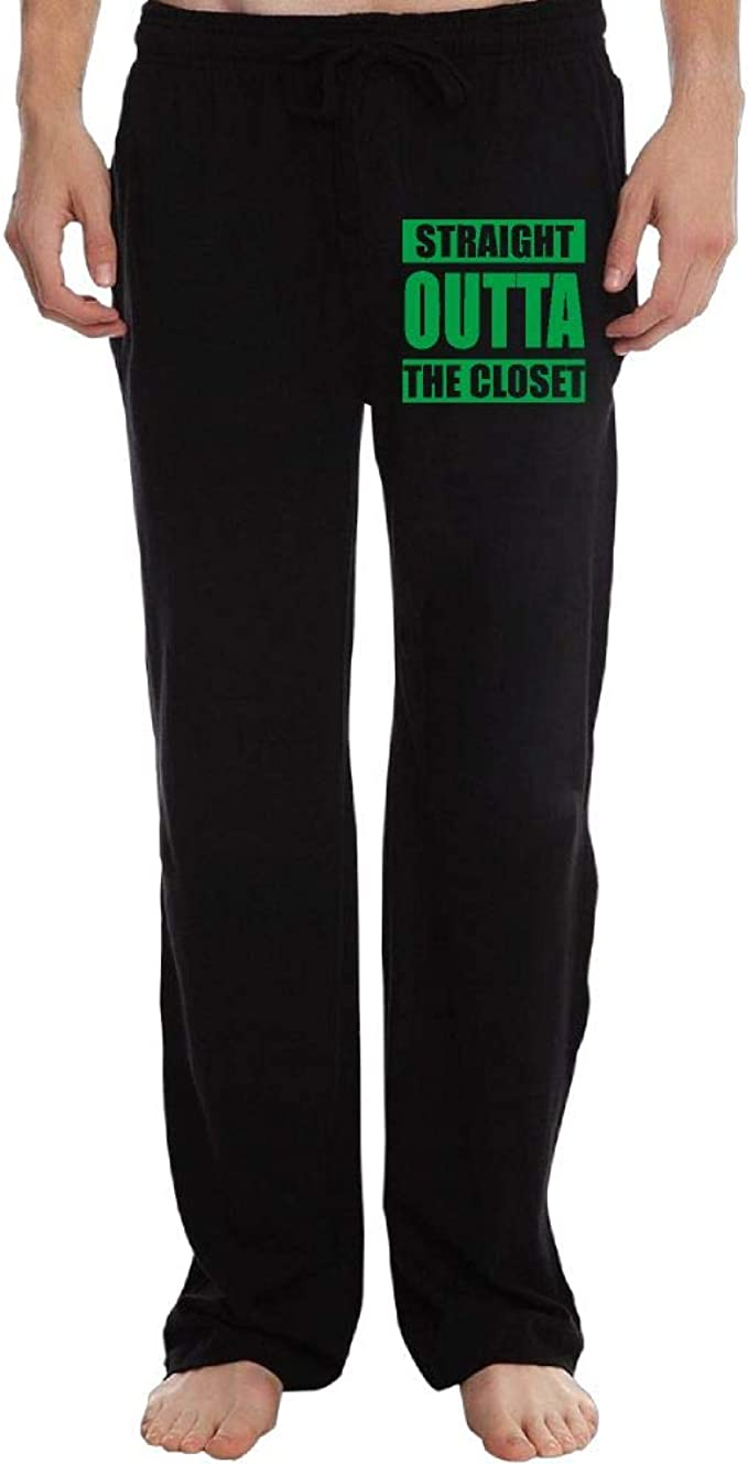 Elastic Straight Outta Serbia 100/% Cotton Running Pants PT25dw-2 Long Sweatpants for Mens