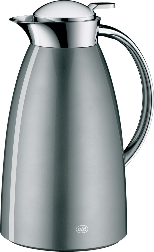 alfi Stainless Steel Desktop Pot ''Gusto'' (1.0L) AFTF-1000S CGY (Cool Gray)【Japan Domestic genuine products】
