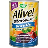Alive! Pea Ultra-Shake Vanilla, 2.2 lbs Powder ( Multi-Pack)