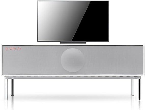 Geneva XXL Sound System - Radio (DAB+/CD, 120 x 51 x 55 cm, inalámbrica, con Bluetooth), color blanco: Amazon.es: Electrónica