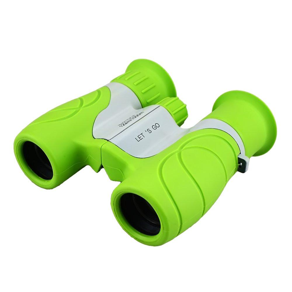 Opoコンパクト双眼鏡for Kids Bird Watchingハイキング – Best Gifts B07BY15RBM グリーン グリーン