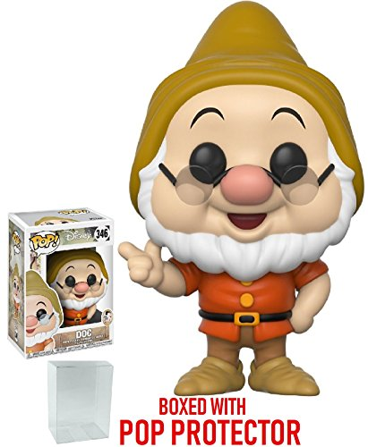Funko Pop! Disney: Snow White and the Seven Dwarfs - Doc Vinyl Figure (Bundled with Pop Box Protector Case)