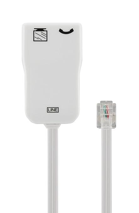 67 opinioni per Belkin F3X1387cp Filtro ADSL Rj11 per Ottimizzare le Prestazioni DSL, Bianco