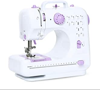 Sewing machine Máquina de Coser Mini eléctrica Pequeña 12 Programa ...