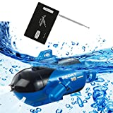 Ireav Mini RC Racing Submarine Boat Remote Control Toys Child Present Kid Birthday