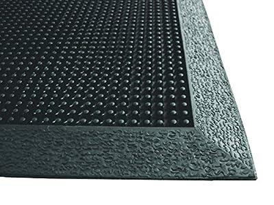 Brush Tip Scraper Floor Mat, Rubber