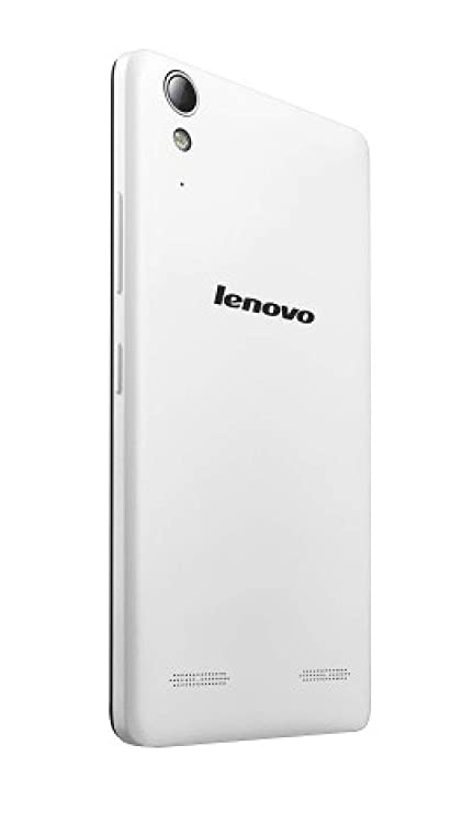 Arsh Replacement Battery Back Door Panel for Lenovo A6000/A6000 Plus  White  Mobile Phone Cases   Covers