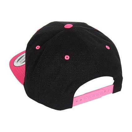 RBP RBP-SB600-BP Black Trucker Hat Pink Star