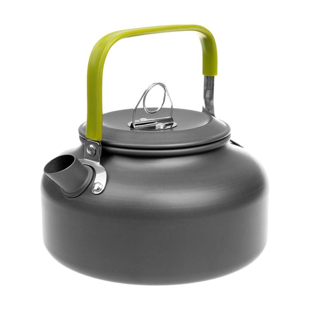 Docooler Camping Kettle - 1.1L & 1.6L Portable Ultra-Light Outdoor Hiking Camping Picnic Water Kettle, Teapot, Coffee Pot - Compact, Quick-Heat & Anti-scalding (0.8L) by Docooler