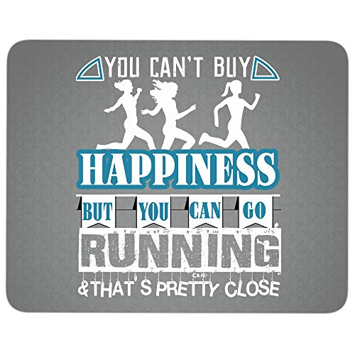 Funny Running Premium-Textured Mouse pad, You Can Go
