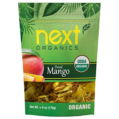 Next Organics Dried Mango Organic 6 Ounce ()