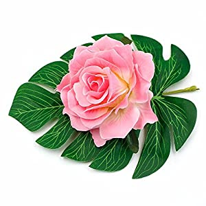 8pcs/lot 10cm Big Silk Blooming Roses Artificial Flower Head for Wedding Decoration DIY Wreath Gift Scrapbooking Craft Flower 104