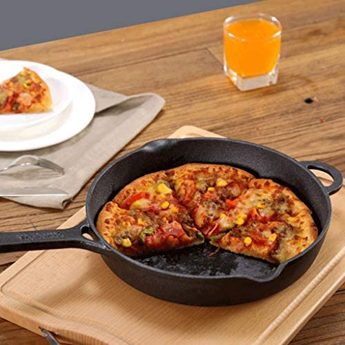 Poêle à frire en fonte poêle à frire antiadhésive maison marmite à crêpes steak omelette