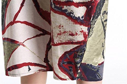 Robe Pull Luojida Swag Femme Imprim R4qwaqY