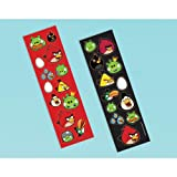 Angry Birds Sticker Sheets (8) (Multi-colored) Party Accessory, Health Care Stuffs