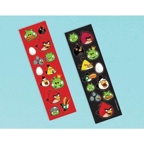 Angry Birds Sticker Strip | Party Favor | 8 Ct.]()