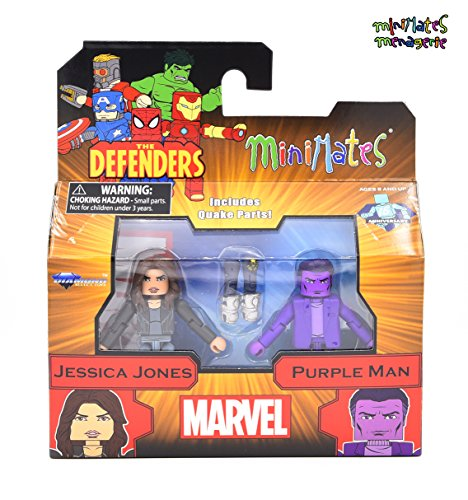 Marvel Minimates Series 75 Jessica Jones & Purple Man 2-Pack