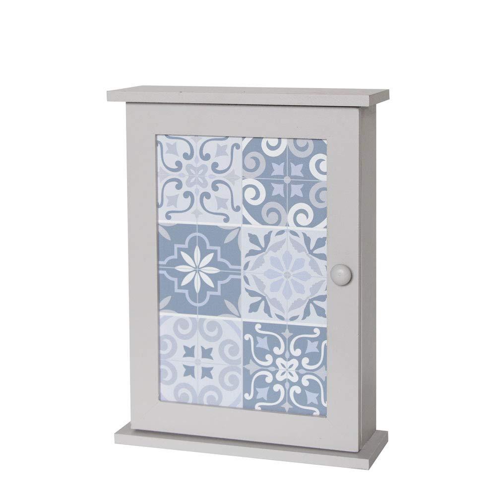 Melody Maison Grey Wall Mounted Key Cabinet