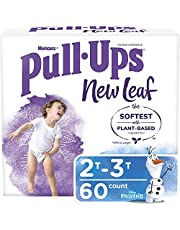 Pull ups Boys Potty Training Underwear, 2t-3t, New Leaf for Toddlers, 60ct, Giga Pack 60 count