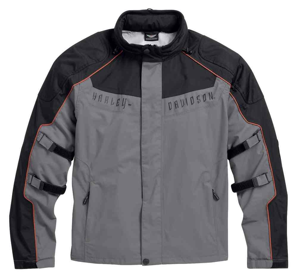 Harley-Davidson Men's Chimera 3-in-1 Waterproof Jacket, Black 97108-16VM (XL)