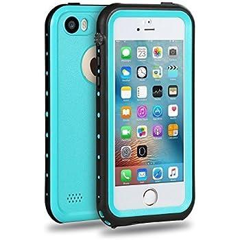 Imichael SE Case Waterproof iPhone 5/5s/SE Case - Blue