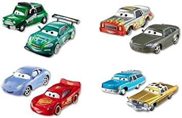 Cars 2 - Pack de 2 Coches, Heather Drifeng y Michelle Motoretta (Mattel Y0506): Amazon.es: Juguetes y juegos