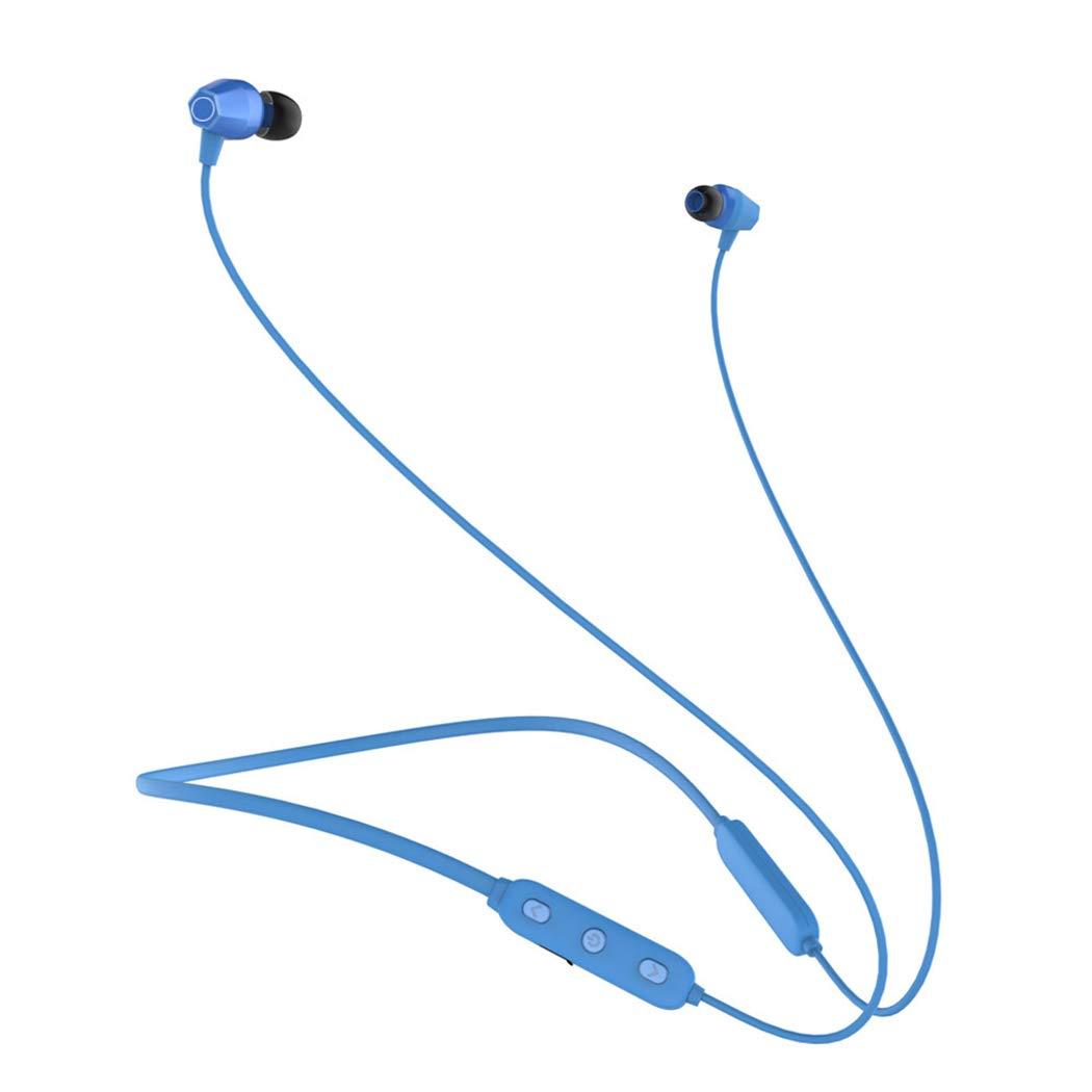 【お1人様1点限り】 YYH Line スポーツ Bluetooth ネックウェア ヘッドセット ネックマウント ランニング 耳栓 耳栓 耳にかける イヤホン ネックウェア Bluetooth イヤホン ブルー 003 ブルー B07H255S5Y, スピードコンタクト:90abb740 --- nicolasalvioli.com