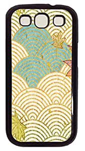 Cream Waves Protective Hard PC Snap On Case for Samsung Galaxy S3 I9300 -1122070