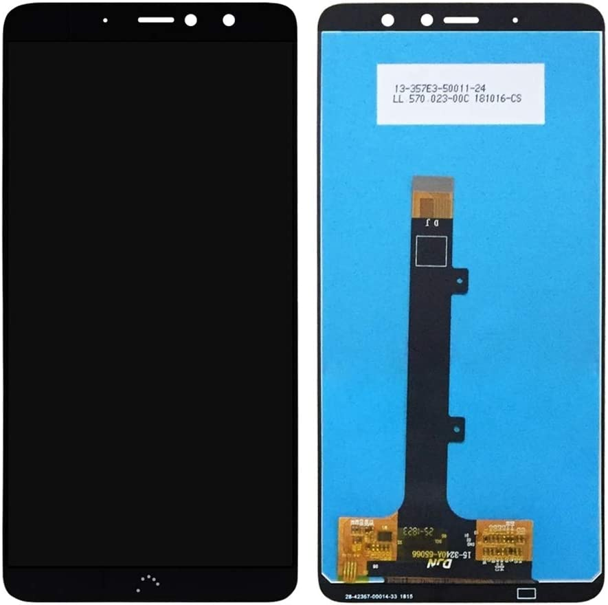 Color : White X2 Pro MDYHMC JSKL AYSMG LCD Screen and Digitizer Full Assembly for BQ Aquaris X2 Black