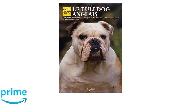 Le Bulldog Anglais Micaela Cantini 9782732823799 Amazoncom Books