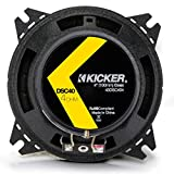 Kicker 43DSC44 D-Series 4-Inch 120 Watt 2-Way Coaxial Speakers (Pair)
