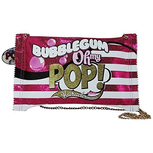 Oh My Pop Bubble Gum Borsa da Donna Ragazza a Spalla Shopper