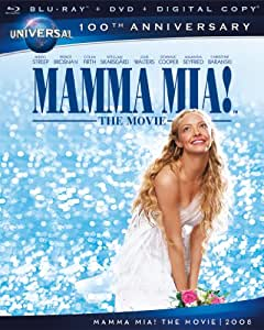 Mamma Mia! The Movie    [Blu-ray + DVD + Digital Copy] (Bilingual)