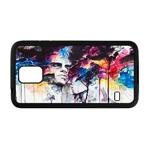 Kweet Prints Samsung Galaxy S5 Case La Nostra Infinita Abnegazione, {Black}