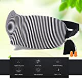 Sleep Mask for Blocking Lights, Comfortable Eye Mask for Deep Sleep - 3D Eye Cover No Pressure On Your Eyeballs - Soft Blindfold Help You Sleep More Natural