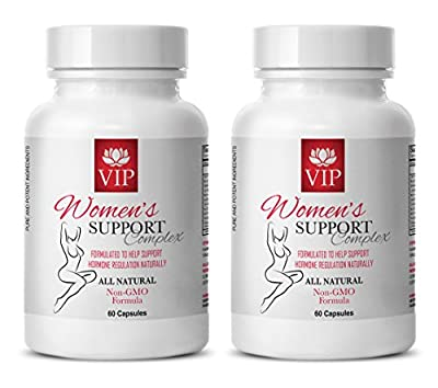 Menopause sex drive - WOMEN'S SUPPORT COMPLEX NATURAL - Red clover amazing formulas - 2 Bottle (120 Capsules)