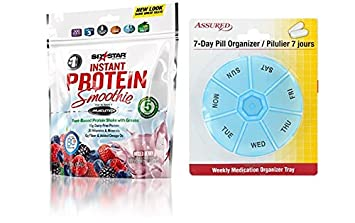 Seis estrellas nutrición Pro planta instantáneo basado en polvo de la proteína del batido, mezclado