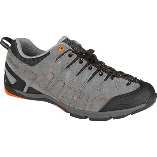 Shimano SH-CT80 Cycling Shoe - Men's Grey/Orange, 42.0