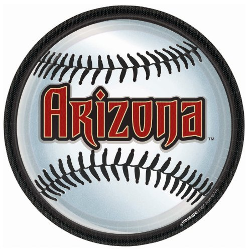 Arizona Diamondbacks - Round Dinner Plates Party -