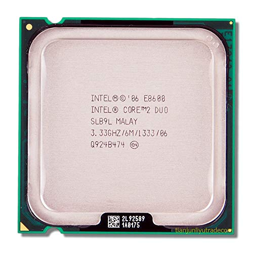 Intel Core 2 Duo E8600 3.33GHz Desktop Processor (Renewed)